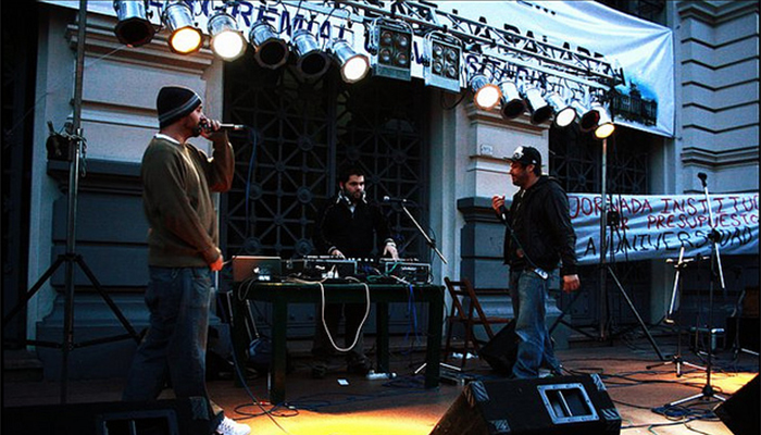 Latejapride, Montevideo hip hop en blanco y negro