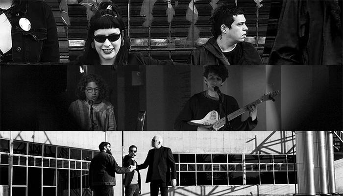 Grabaciones Under: Dataísmo/Pánico/The All Black Cast