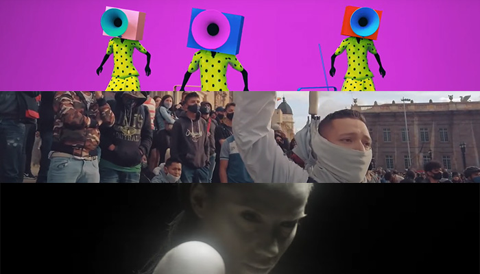 Videos latinos de hoy: Nortec: Bostich + Fussible/Gregorio Merchán/Nena X
