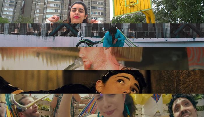 Videos latinos de hoy: Hip Hip/Surfer Gorilla/Pasado Verde/Slowkiss/Systema Solar + Puerto Candelaria