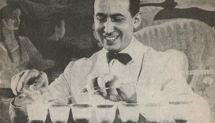 Santiago Policastro, el barman de Perón
